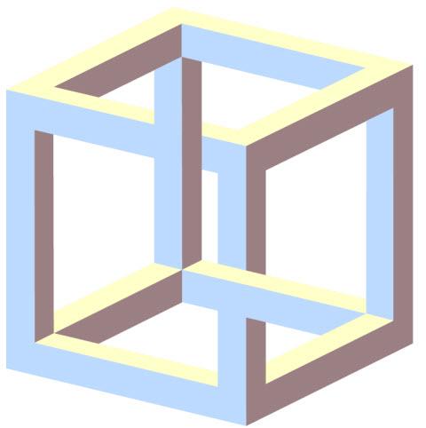 Cubo Imposible Paradoja El Moderador