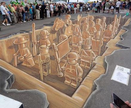 FreshDesign 3D Lego Street Art 2 13112011