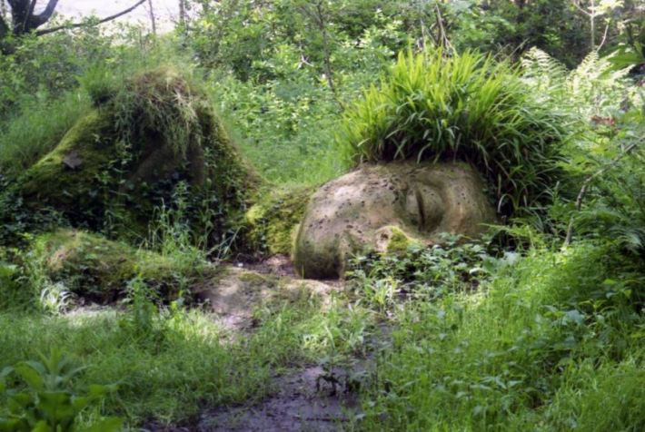 The 'Mud Maid' at the Lost Gardens of Heligan. — en UK El Moderador